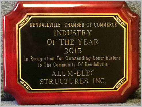 Industry of the Year Award - Alumelec Structures, Inc.